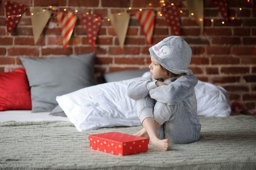 Dépression : les enfants malades sont insensibles aux cadeaux