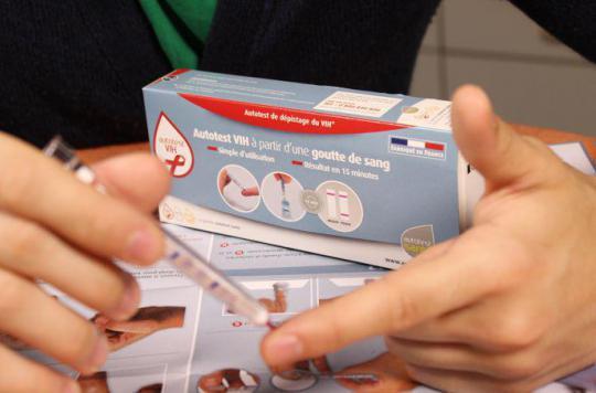 VIH : 70 000 autotests commandés depuis septembre