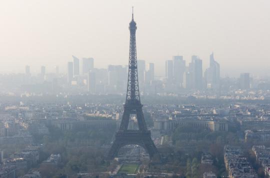 La pollution de l'air fait perdre un an d'espérance de vie