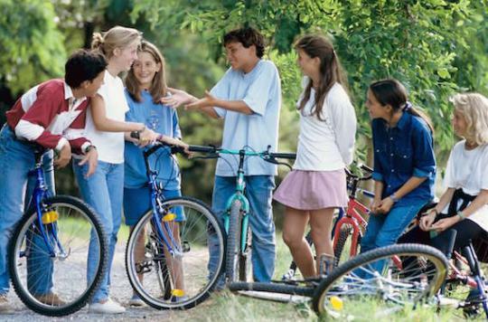 L'amitié à l'adolescence est un gage de bonne santé à l'âge adulte