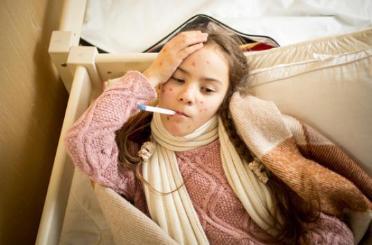 Belgique : 70 cas de rougeole déclarés en deux mois