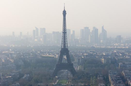 Pollution : pas de circulation alternée à Paris lundi