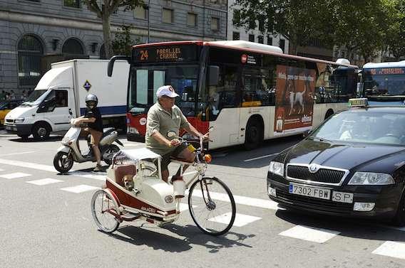 Faire du vélo dans une ville polluée reste bénéfique pour la santé
