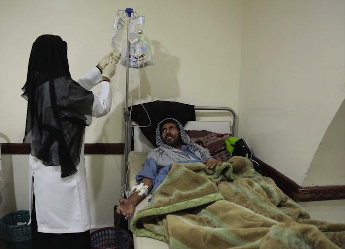 Choléra : l'état d'urgence est déclaré à Sanaa