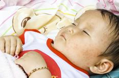 fièvre sans symptômes enfant