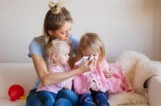 Rhinopharyngite de l'enfant : la récidive est normale chez le jeune enfant