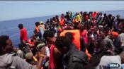 """Migrants : """"Ce qu'ils vivent, c'est inhumain"""""""