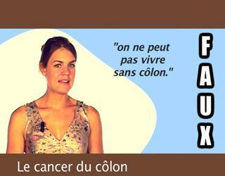 Le cancer du côlon : les idées reçues