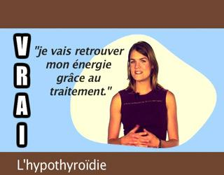 L'hypothyroïdie